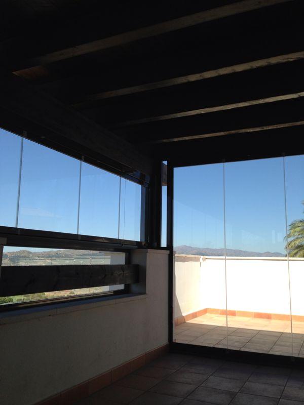 Cortinas de cristal y cierre panoramico